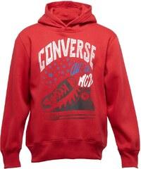Converse Jungen All Star Sneaker Days Ahead Kapuzentop Rot