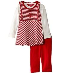 Kanz Unisex Baby Bekleidungsset T-shirt 1/1 Sleeves + Dress + Trousers