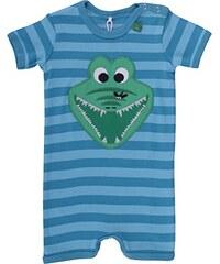 Fred's World by Green Cotton Baby - Jungen Body Crocodile Stripe Beach Body