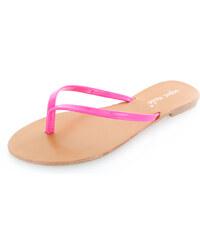 Belle Women Fuchsiové pantofle Julia