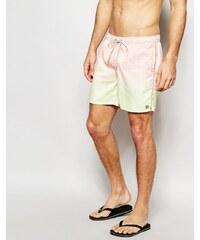 Billabong - Sergio Hatch - Short de bain délavé et décontracté 16 pouces - Orange