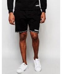 Rascals - Shorts mit Logo-Paspeln - Schwarz
