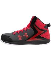 Under Armour LOCKDOWN Basketballschuh noir/rouge/blanc