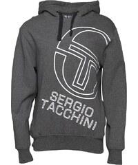 Sergio Tacchini Herren Stackhouse Logo Kapuzentop Grau