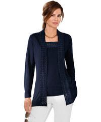 LADY Úpletový kabátek námořnická modrá