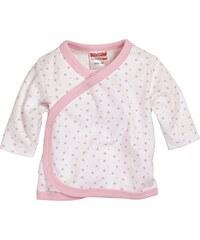Schnizler Unisex Baby Hemd Wickelshirt, Flügelhemd, Erstlingshemd Langarm Sterne, Oeko Tex Standard 100