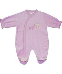 Schnizler Baby - Mädchen Schlafstrampler Schlafanzug Nicki Prinzessin