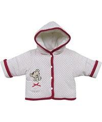 Schnizler Baby - Mädchen Jacke Kapuzenjacke Nicki Teddybär, Warm Wattiert
