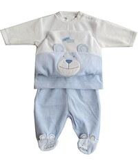 Schnizler Baby - Jungen Jogginganzug Nickianzug Teddybär Strampelhose