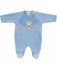 Schnizler Unisex Baby Schlafstrampler Nicki, Schlafanzug, Bear For You