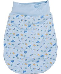Schnizler Unisex Baby Schlafsack Strampelsack Autos und Flugzeuge mit elastischem Umschlagbund, Oeko Tex Standard 100