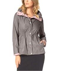 Jarní bundy, jarní bunda Jessica Simpson XS taupe (šedohnědá)