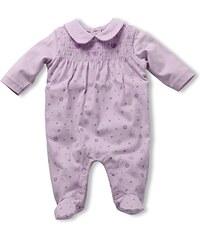 Schnizler Baby - Mädchen Schlafstrampler Schlafanzug Blumen Allover