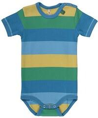Fred's World by Green Cotton Baby - Jungen Body Block Stripe S/sl Body