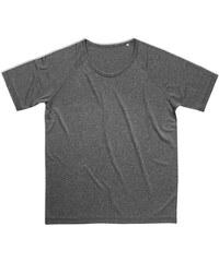 Pánské sportovní tričko Performance - Stříbrná S