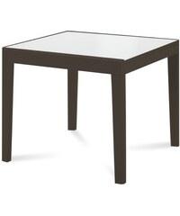 DOMITALIA Srl Asso 90 - Jídelní stůl (extra bílá, wenge)