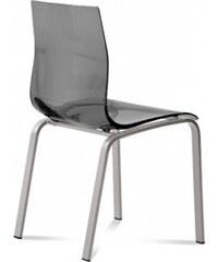 DOMITALIA Srl Gel-R - Jídelní židle (hliník, kouřově šedá)