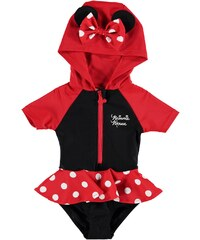 Character Hooded Swim Suit Baby Disney Minnie