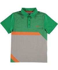 Sportovní polokošile Slazenger Graphic Golf dět. zelená