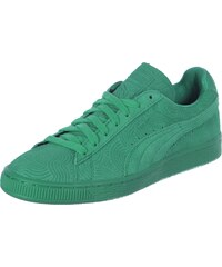 Puma Suede Classic + Colored W chaussures somply green