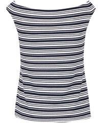 Modré tričko s lodičkovým výstřihem Dorothy Perkins