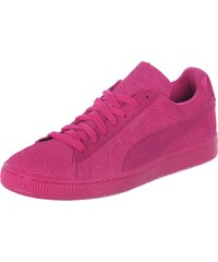 Puma Suede Classic + Colored W chaussures rose red rose