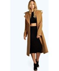 BOOHOO Luxusní vlněný kabát Jeeny