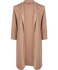 BOOHOO Elegantní béžový kabát Tory
