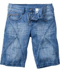 RAINBOW Bermuda en jean Regular Fit bleu homme - bonprix
