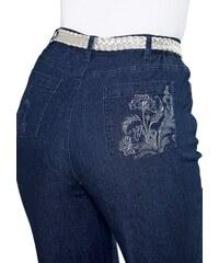 CLASSIC BASICS Damen Classic Basics Jeans in Stretch-Qualität blau 38,40,42,44,46,48,50,52,54,56