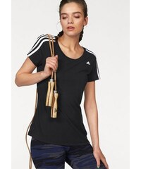 adidas Performance ESSENTIALS 3S SLIM TEE T-Shirt schwarz L (40/42),M (36/38),S (32/34),XL (44/46),XS (28/30),XXL (48/50)