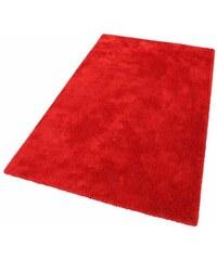 Hochflor-Teppich Soft Höhe 30 mm handgearbeitet Tom Tailor rot 1 (B/L: 50x80 cm),2 (B/L: 65x135 cm),3 (B/L: 140x200 cm),5 (B/L: 190x190 cm),6 (B/L: 190x290 cm)