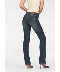 Arizona Damen Gerade Jeans Kontrastnähte blau 34,36,38,40,42,44,46,48