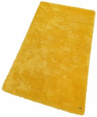 Hochflor-Läufer Soft Höhe 30 mm handgearbeitet Tom Tailor gelb 11 (B/L: 85x155 cm)