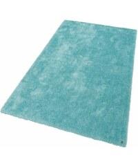 Tom Tailor Hochflor-Teppich Soft Höhe 30 mm handgearbeitet blau 1 (B/L: 50x80 cm),2 (B/L: 65x135 cm),3 (B/L: 140x200 cm),4 (B/L: 160x230 cm),5 (B/L: 190x190 cm),6 (B/L: 190x290 cm)