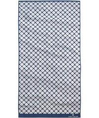 Badetuch Andrew mit Netz-Optik Tom Tailor blau 1xBadetuch 70x140 cm