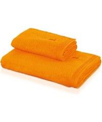 Handtuch Superwuschel in flauschiger Qualität MÖVE gelb 1xHandtuch 50x100 cm