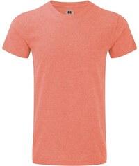 Pánské žíhané tričko - Korálová XS