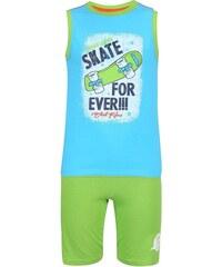 Blue Seven Chlapecký set trička a šortek Heavy Skate - zelený