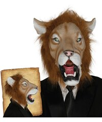 Fiestas Guirca Latexová maska lva