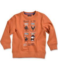 Blue Seven Chlapecká mikina Big Giants - oranžová