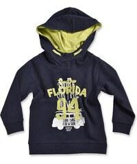 Blue Seven Chlapecká mikina s kapucí Florida - tmavě modrá