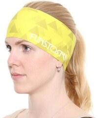 Sportovní čelenka Funstorm Arrow yellow ONE SIZE