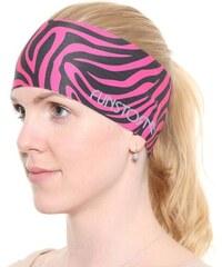 Sportovní čelenka Funstorm Wild pink ONE SIZE