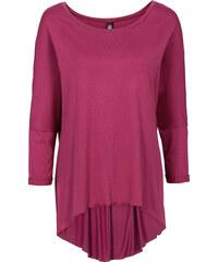 RAINBOW Oversize Shirt kurzer Arm in pink für Damen von bonprix