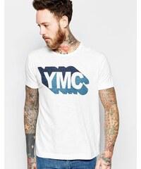YMC - T-shirt avec logo YMC - Blanc - Blanc