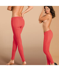 Lesara Figur Body Slim-Jeans-Leggings - Rot - S