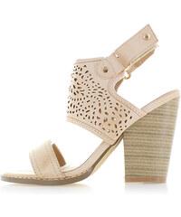 United Fashion Béžové sandály Miranda