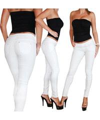 Lesara Treggings mit Taschen - Weiß - XS