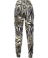 Lesara Damen-Hose im Zebra-Look - Mehrfarbig - M
